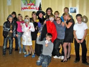 Сценарій на карнавал Хеллоуїн