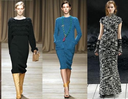 Модні сукні осінь-зима 2011/2012