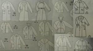 Пальта з рукавом реглан