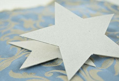 Картонні об'ємні зірки 1