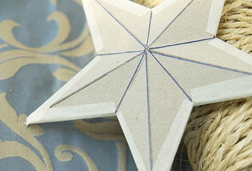 Картонні об'ємні зірки 5
