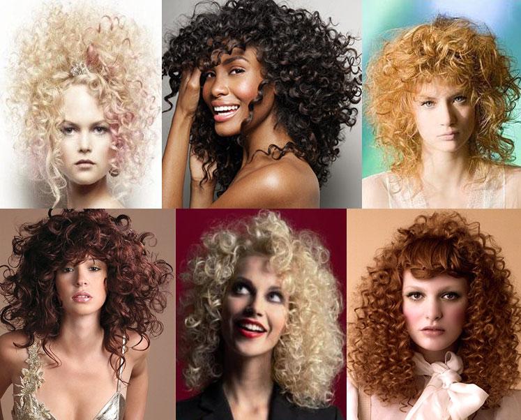 Кучеряві зачіски на Новий 2012