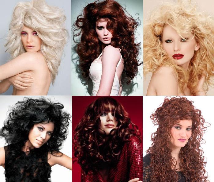 Пишні зачіски на Новий Рік 2012 - ніжний звір