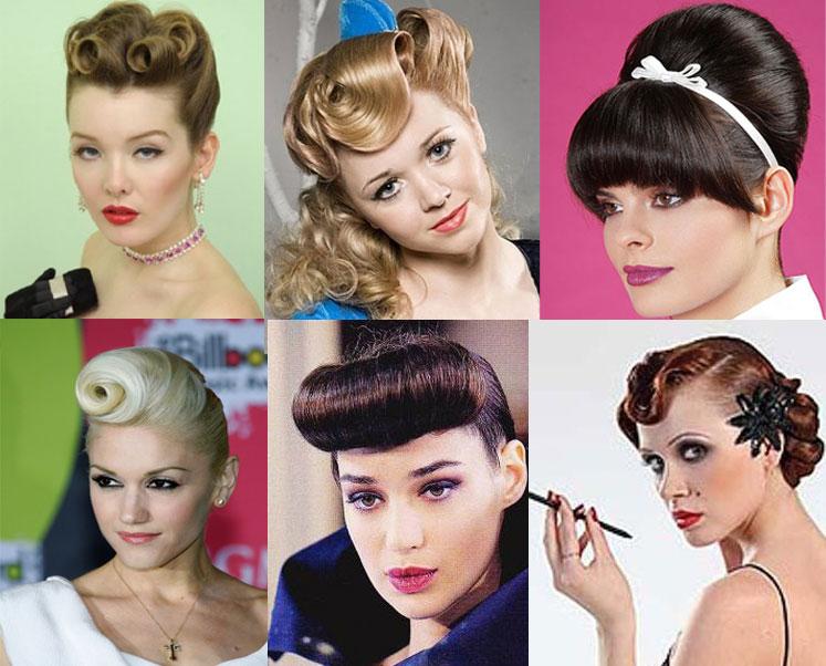Ретро зачіски для Нового 2012 року - голлівудська діва