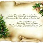 Поздоровлення з Різдвом англійською мовою
