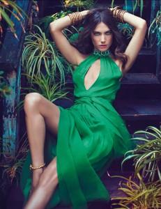 Джессіка Міллер в рекламі Blugirl весна 2012 (фото 4)