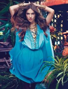 Джессіка Міллер в рекламі Blugirl весна 2012 (фото 7)