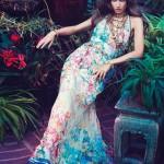Джессіка Міллер в рекламі Blugirl весна 2012 (фото 8)