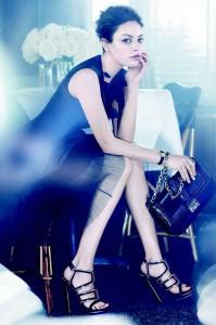 Міла Куніс у фотосеті для Christian Dior (фото 3)