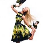 Віка Фалілеєва в рекламній компанії Blumarine весна 2012 (фото 6)