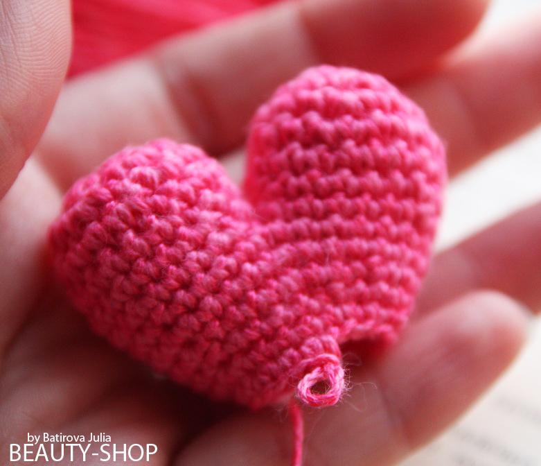 В'язані сердечка 27
