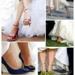 Модне весільне взуття