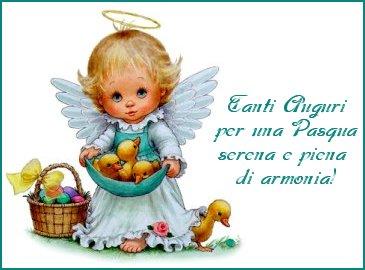 Привітання з Великоднем італійською мовою