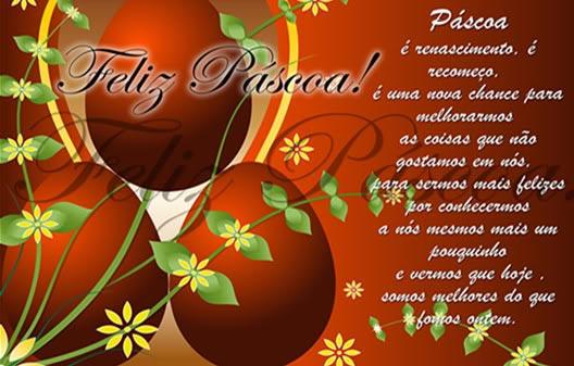 Поздоровлення з Пасхою португальською мовою