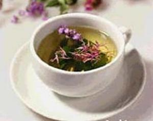 Чай з травою ехінацеї