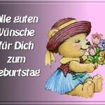 Привітання з днем народження німецькою