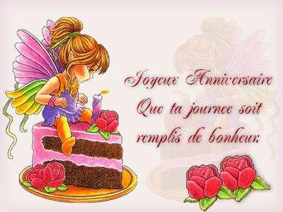 Привітання з днем народження французькою