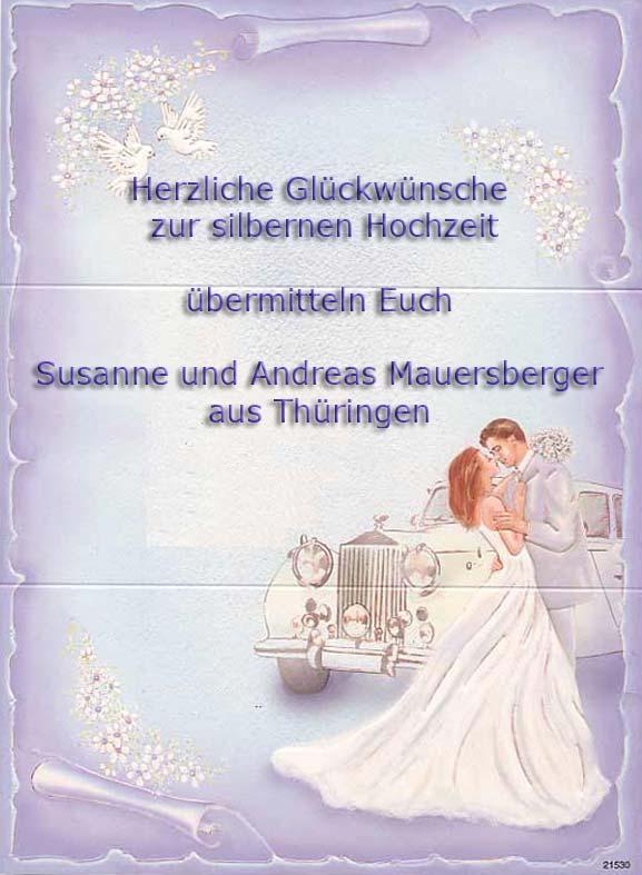 Привітання з весіллям німецькою
