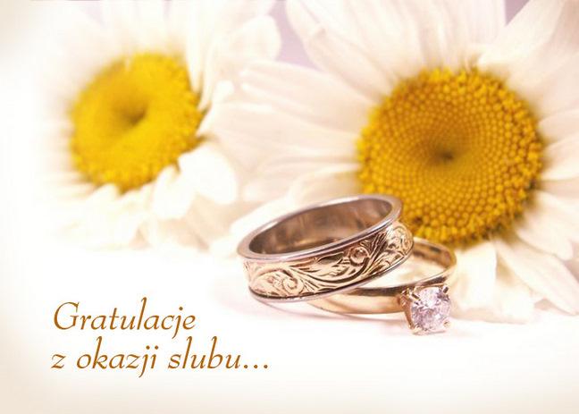 Поздоровлення з весіллям польською