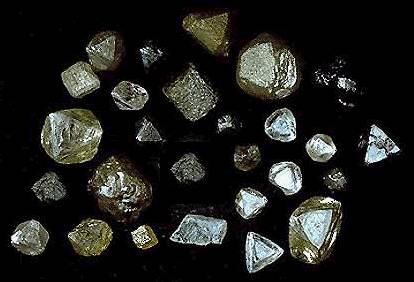 Магічні властивості алмазів