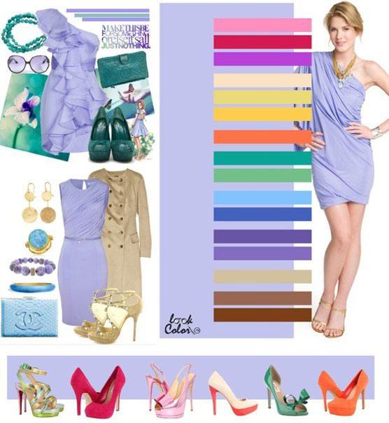 ... Як поєднувати кольори в одязі - фото 4 145bbaa3e9870