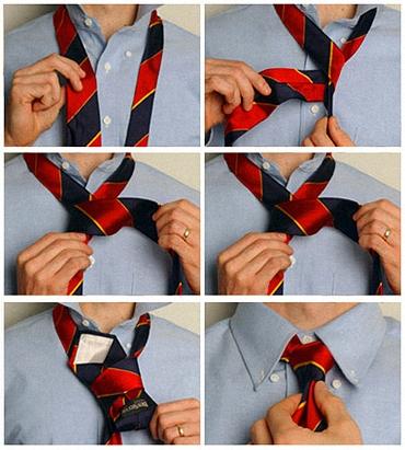 Як зав'язувати краватку - фото 5