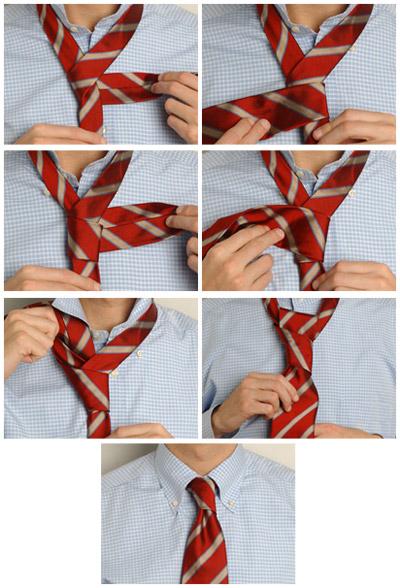 Як зав'язувати краватку - фото 6