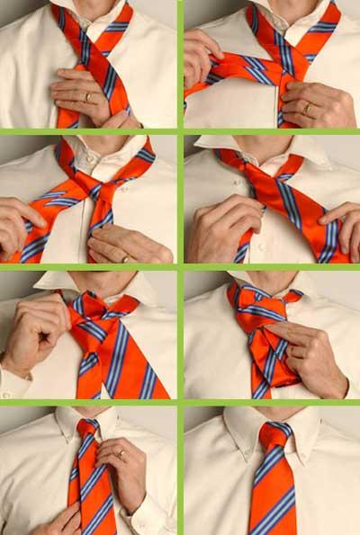 Як зав'язувати краватку - фото 2