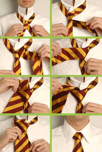 Як зав'язувати краватку - фото 3