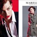 Мілла Йовович у фотосесії для Marella осінь-зима 2012