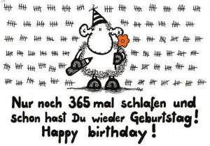 Вітання з днем народження на німецькій мові з перекладом