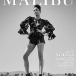 Зої Салдана у фотосесії Malibu Magazine