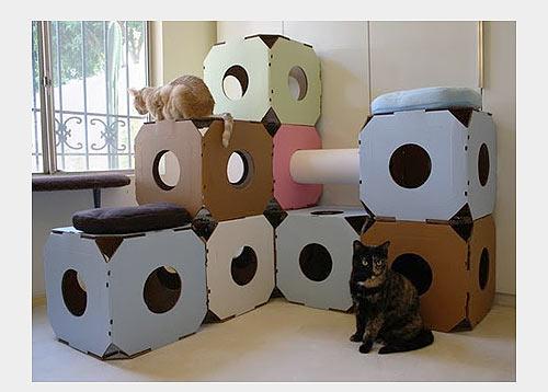 Будиночки для кішок - фото 27