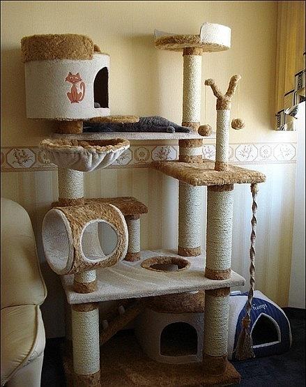 Будиночки для кішок - фото 13