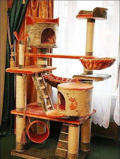 Будиночки для кішок - фото 9
