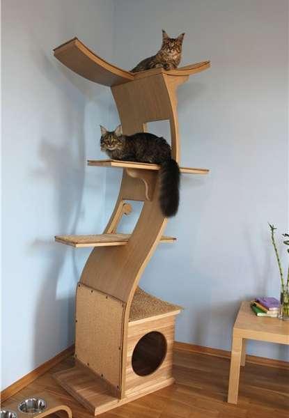 Будиночки для кішок - фото 16