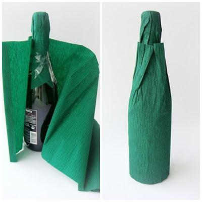Новорічне декорування пляшки шампанського - фото 4