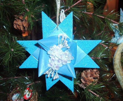 3D зірки для новорічної ялинки - фото 2