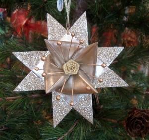 3D зірки для новорічної ялинки