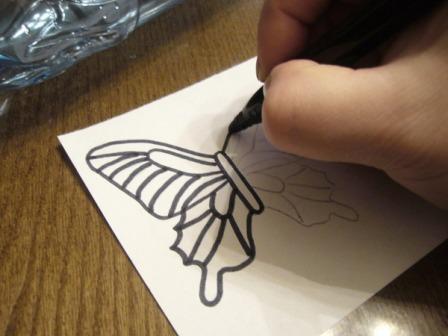 Метелики з пластикових пляшок - фото 1