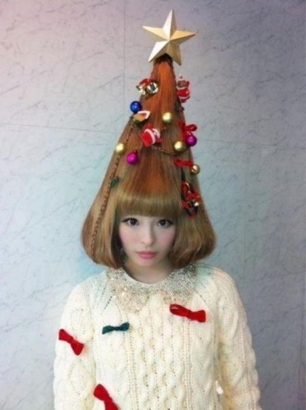 Новорічні зачіски 2013 - фото 10