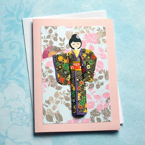 Хендмейд листівки в техніці орігамі - фото 2