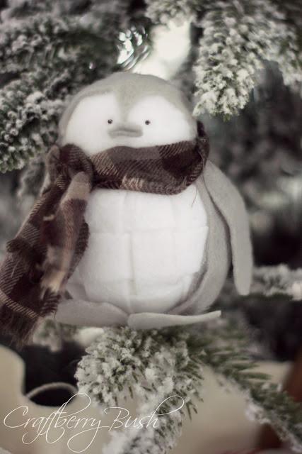 Пінгвін з повсті