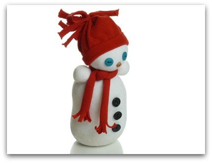 Сніговик з шкарпеток - фото 2