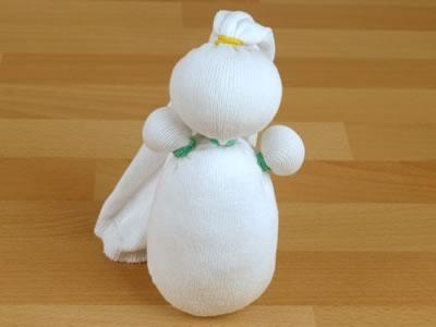 Сніговик з шкарпеток - фото 5