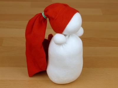 Сніговик з шкарпеток - фото 6