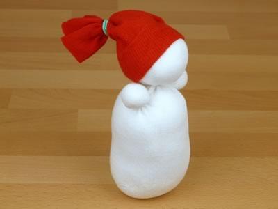 Сніговик з шкарпеток - фото 7