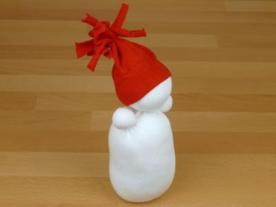 Сніговик з шкарпеток - фото 8