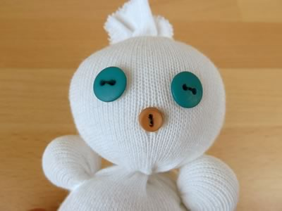 Сніговик з шкарпеток - фото 10