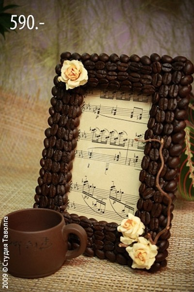 Декорування кавовими зернами - фото 17